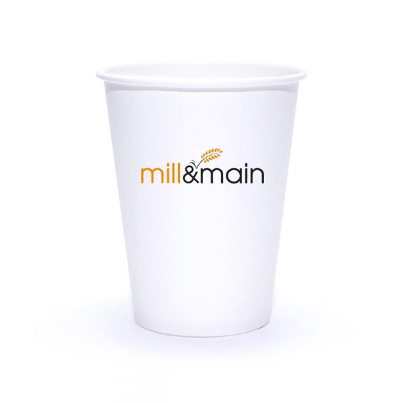 12oz Custom Printed Paper Cup - Apartment Promotion