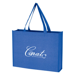 Non-Woven Glitter Bags - Apartment Promotion