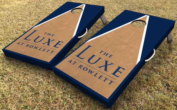 Custom Cornhole Boards - Apartment Promotion