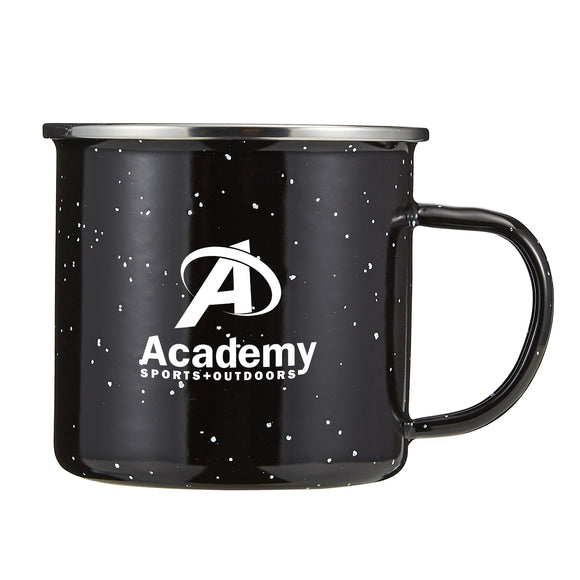 16oz Speckled Camping Mug - Apartment Promotion