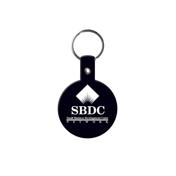 Round Flexible Key Tag - Apartment Promotion