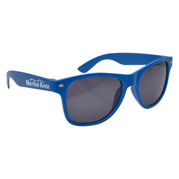 Eco-Friendly Wheat Malibu Sunglasses - Apartment Promotion