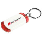 QuickShip - On The Edge Key Tag - Apartment Promotion