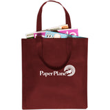 Non-Woven Value Tote (No Gusset) 14x13-1/4 - Apartment Promotion