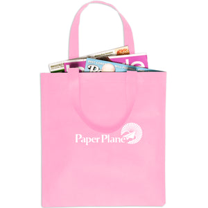"Non-Woven Value Tote (No Gusset) 14""x13-1/4"" - Apartment Promotion"