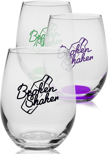 9 oz. Libbey Stemless Wine Glasses