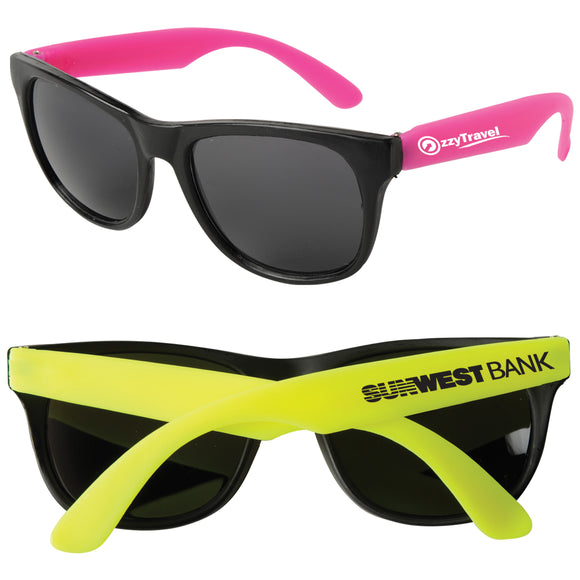 Neon Sunglasses - Apartment Promotion