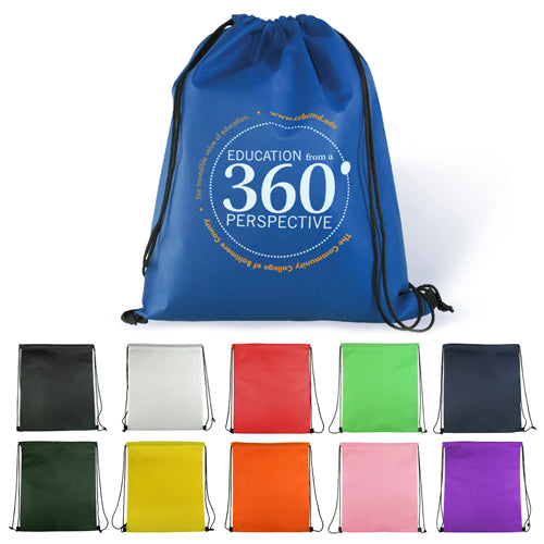 Non-Woven Drawstring Backpack - Apartment Promotion