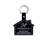 House Shaped Flexible Key Tag