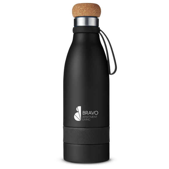 19oz Vacuum Bottle with Cork Lid