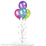 Classic 4-Balloon Tabletop Kit - Adhesive Mount