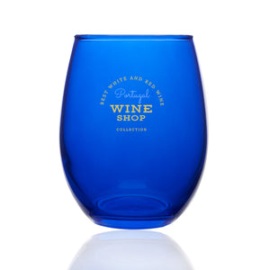 9 oz. Colored Stemless Wine Glass - Apartment Promotion