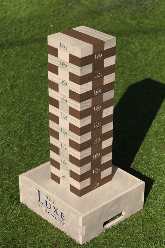 Giant Tumbling Tower - Apartment Promotion