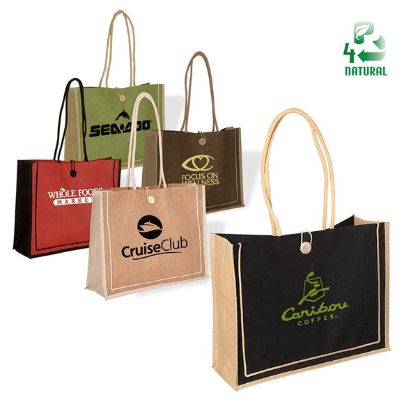 Milan Jute Tote - Apartment Promotion
