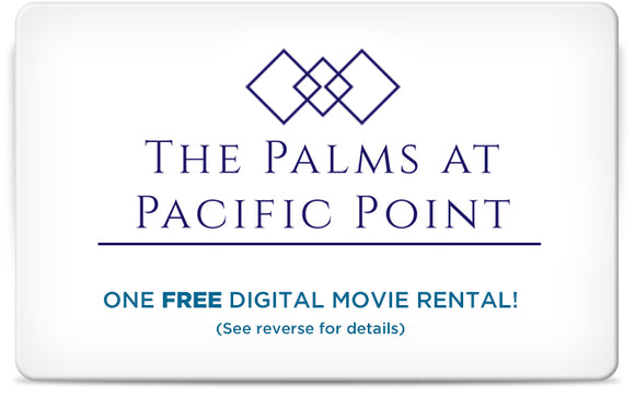 Digital Movie Rental - Cards or Email - Apartment Promotion