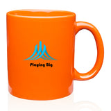 11oz C-Handle Ceramic Mugs - Apartment Promotion
