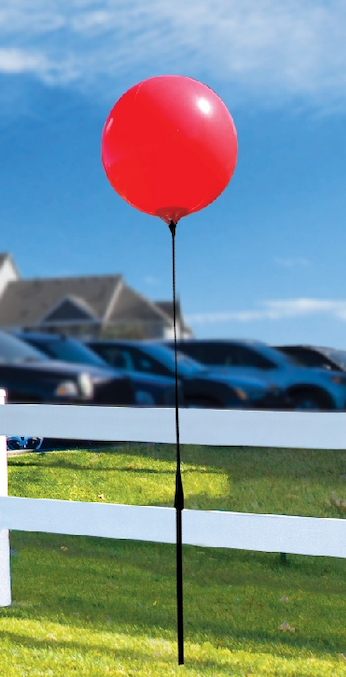 Premium Single Balloon Kit - Ground Mount