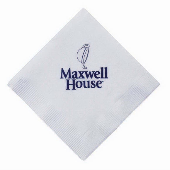 5x5 3-Ply Beverage Napkin - Apartment Promotion