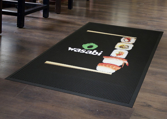 Door Mat - Rubber Scrape - Apartment Promotion