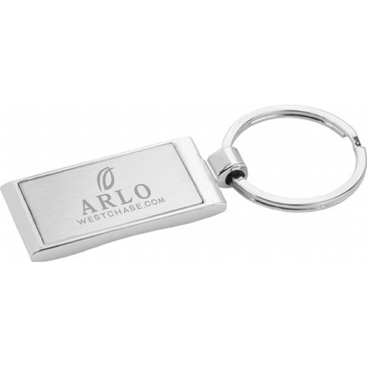 Metal Wave Key Ring