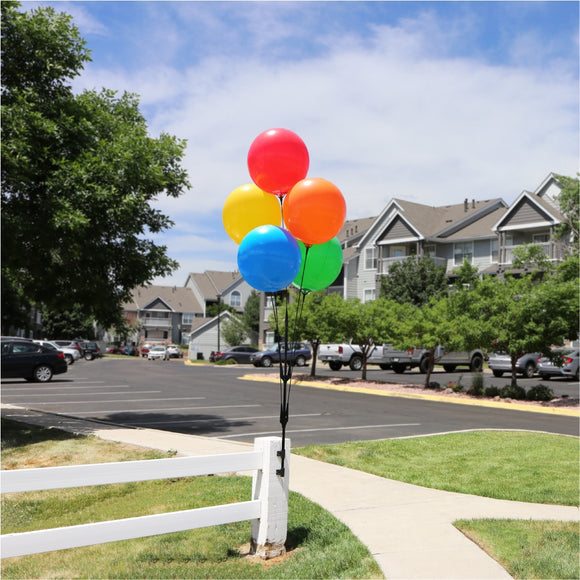 Value 5-Balloon Cluster - Fence Mount