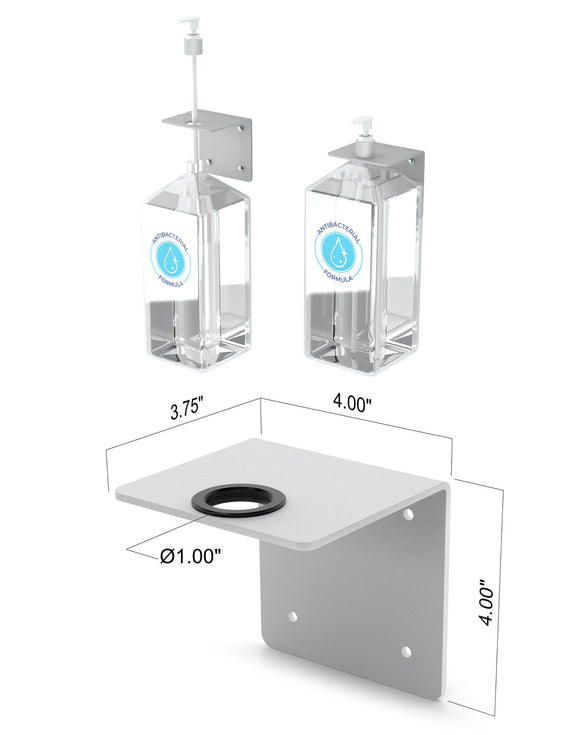 Hand Sanitizer Wall Mount Bracket