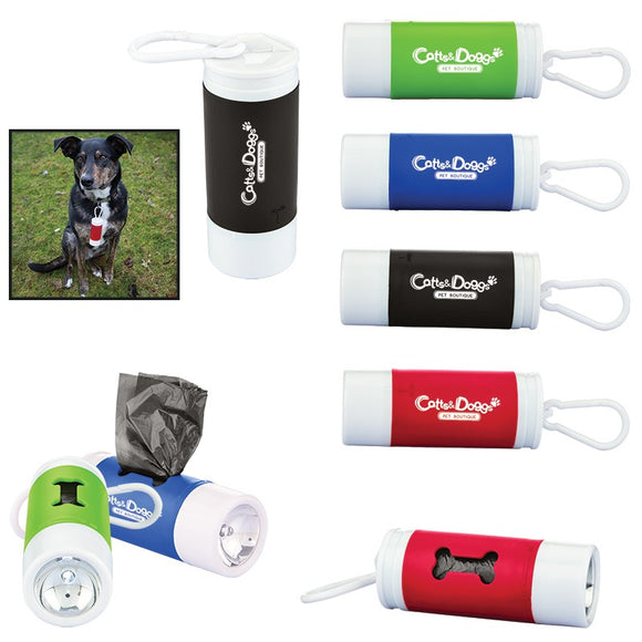 Pet Bag Dispenser with Flashlight - Apartment Promotion