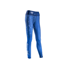 Load image into Gallery viewer, WOMEN'S LEGGINGS GALAXY BLUE