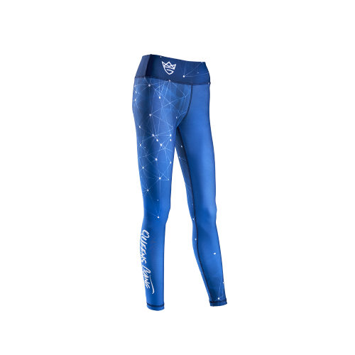 WOMEN'S LEGGINGS GALAXY BLUE