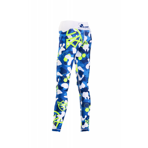 WOMEN'S LEGGINGS CAMO BLUE WHITE