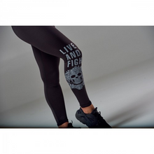 Load image into Gallery viewer, WOMEN'S LEGGINGS ETERNAL BLACK