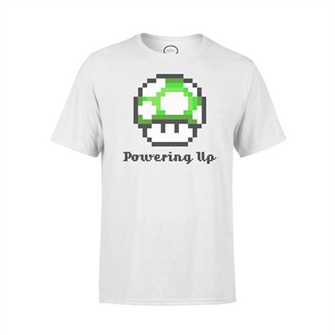 NINTENDO T-SHIRT - POWERING UP