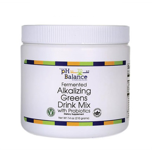 FERMENTED ALKALIZING GREENS DRINK MIX WITH PROBIOTICS