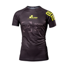 Load image into Gallery viewer, BIG REGLAN ACTIVE NEON BLACK