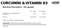 Load image into Gallery viewer, CURCUMIN & VITAMIN D3