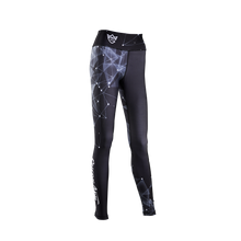 Load image into Gallery viewer, WOMEN'S LEGGINGS GALAXY BLACK