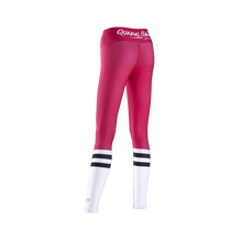 Load image into Gallery viewer, WOMEN'S LEGGINGS HIGH SOCK PINK&WHITE