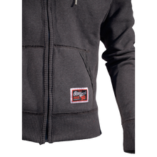 Load image into Gallery viewer, MEN'S HOODIE STACKED CHARCOAL