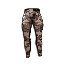 Load image into Gallery viewer, MEN'S LEGGINGS WORKOUT CAMO GRAY BLACK