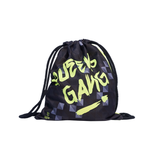 SPORT SACK BAG NEON BLACK