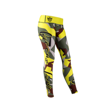 Load image into Gallery viewer, WOMEN'S LEGGINGS CAMO LADY GREEN