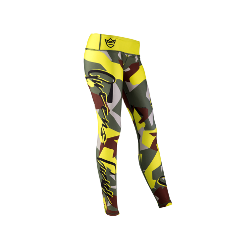 WOMEN'S LEGGINGS CAMO LADY GREEN
