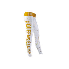 Load image into Gallery viewer, WOMEN'S LEGGINGS FANCY WHITE GOLD