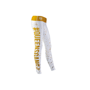 WOMEN'S LEGGINGS FANCY WHITE GOLD