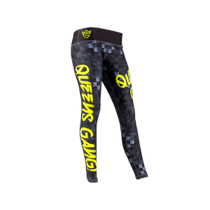 WOMEN'S LEGGINGS NEON BLACK