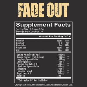 FADE OUT - SLEEP FORMULA
