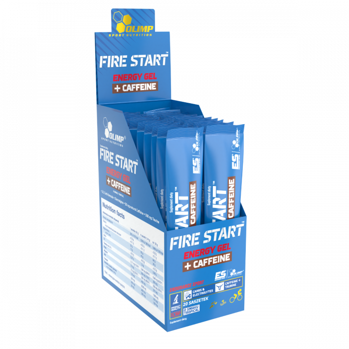 FIRE STARТ ENERGY GEL+CAFFEINE