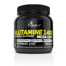 Load image into Gallery viewer, GLUTAMINE 1400 MEGA CAPS