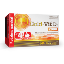Load image into Gallery viewer, GOLD - VIT D3 2000