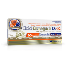 Load image into Gallery viewer, Gold Omega 3® D3 + K2